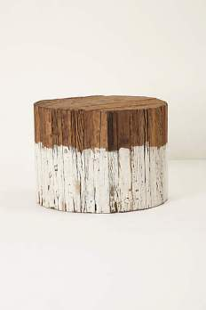 Dip-Dyed Side Table
