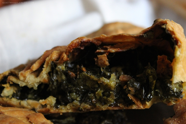 perfect rustic spinach pie -Greek grandma's recipe! Delicious