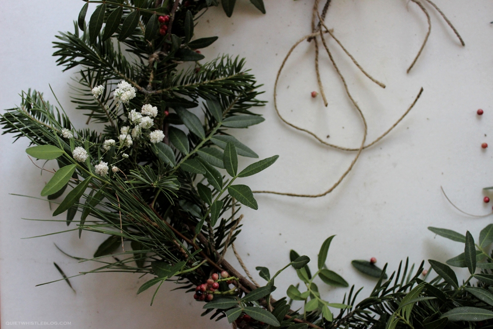 DIY Christmas Wreath. Merry Christmas!