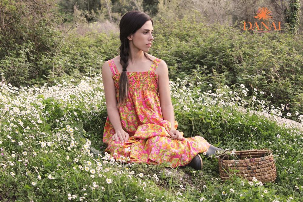 bright tailor made maxi dress